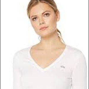 🐊 Lacoste long-sleeve cotton t-shirt